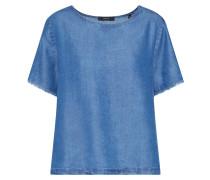 Bluse 'Fridolina' blue denim