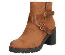 Boots 'Maya' karamell / schwarz