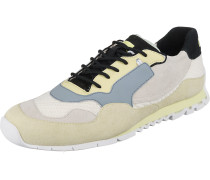 Sneakers taubenblau / weiß / eierschale