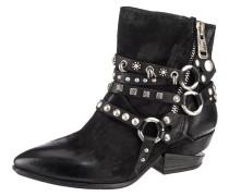 Boots 'Biker' schwarz