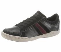 Sneaker weinrot / schwarz
