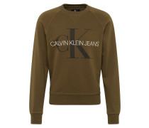 Sweatshirt 'washed REG Monogram CN'