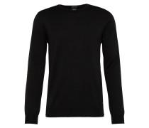 Pullover aus Feinstrick 'Denny' schwarz