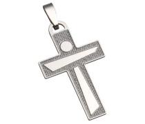 Kreuzanhänger 'Kreuz' silber