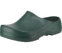 Clogs 'Super Birki' dunkelgrün