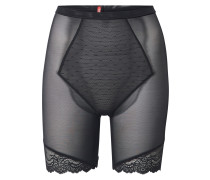 Shapinghose 'Lace Midthigh' schwarz