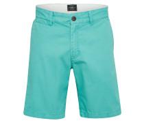 Chino Shorts türkis