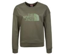 Sweatshirt 'Drew Peak' oliv / apfel