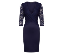 Kleid 'lace TOP Bodycon' navy
