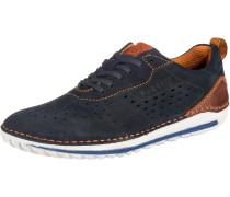 Sneaker kobaltblau / dunkelorange