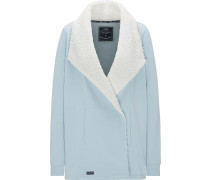 Jacke rauchblau / weiß
