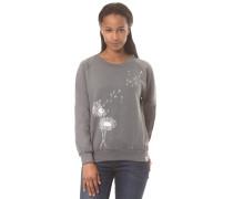 Sweatshirt 'Pusteblume' grau