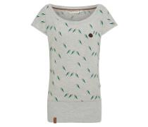 T-Shirt 'Wolle Doofmann' graumeliert