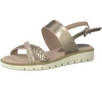 Sandale gold / rosa
