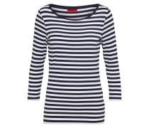 Jerseyshirt 'Dannela' navy / offwhite