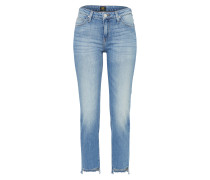 Slimfit Straight Denim 'Elly' blue denim
