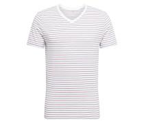 Shirt 'v-Everyday V Stp' mischfarben / weiß