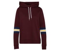Sweatshirt 'Amour' weinrot