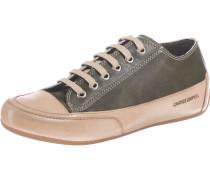 Sneakers 'Rock' camel / grasgrün
