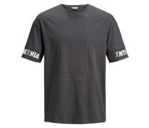 Box Fit T-Shirt dunkelgrau