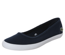 Slipper 'Marthe' navy / weiß