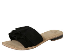 Pantoletten 'Donda' schwarz