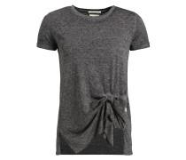 T-Shirt 'susanna' dunkelgrau