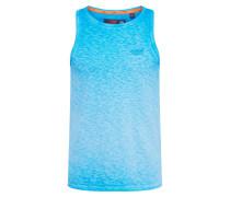 Shirt 'low Roller Vest' aqua