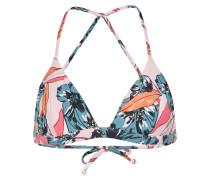 Bikinitop 'coastal' blau / rosa