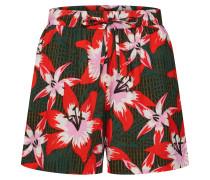 Shorts 'nmalpha' rot / schwarz