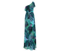 Kleid 'katelyn' grün / petrol / schwarz