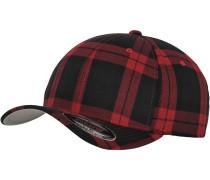 Cap 'Tartan Plaid' rot / schwarz