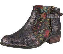 Chelsea Boots helllila / rosa / schwarz