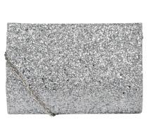 Clutch 'fold' silber