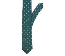 Krawatte smaragd