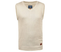 V-Ausschnitt-Pullover 'Larsson' beige / sand