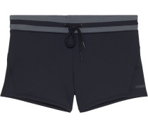 Badeshorts 'lovro' grau / schwarz