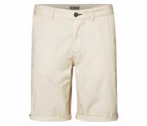 Klassische Chino Shorts weiß
