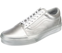 Old Skool Sneakers silber
