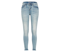 Skinny 7/8 Jeans blue denim