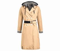 Mantel ' Judita With Inner Jacket ' beige
