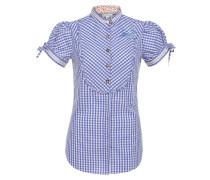 Bluse 'Ilaria' blau / weiß