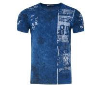 T-Shirt mit modernem Front & Back Print