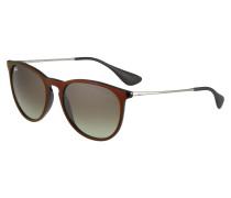 Sonnenbrille 'Erika' braun / schwarz