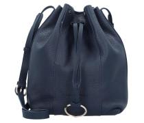 Bucket-Bag 'Pebble' navy
