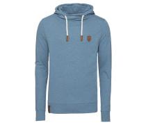 Sweatshirt 'Diese Nüsse' rauchblau