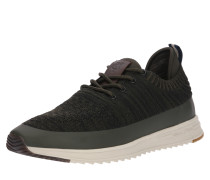 Sneaker oliv / naturweiß