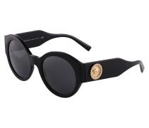 Sonnenbrille '0Ve4380B' gold / schwarz