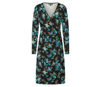 Kleid himmelblau / schwarz