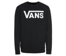 Sweatshirt 'classic Crew' schwarz / weiß